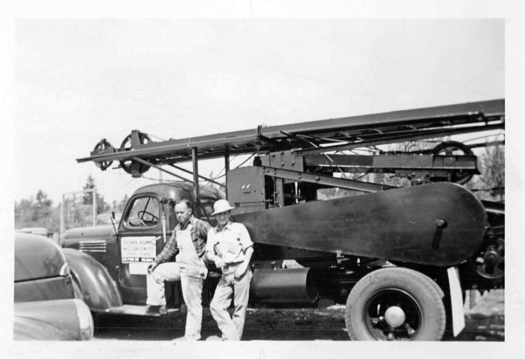 Tacoma Pump & Drilling 1933