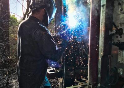 Matt welding