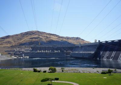 Scenic View of Dam